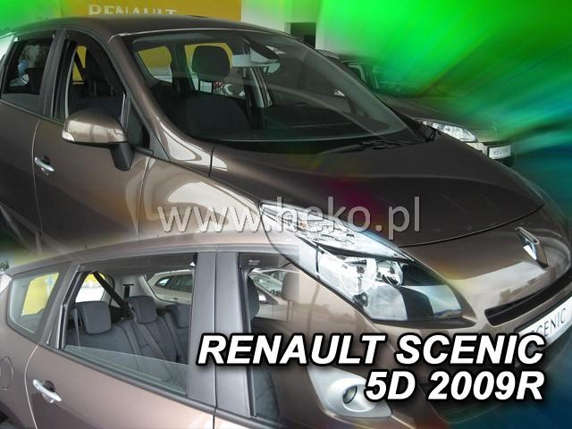 Ofuky oken Opel Astra IV 5dveř 09- před.+zadní sed Heko