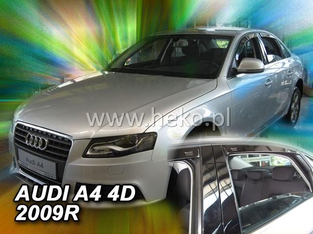 Ofuky oken Audi  A4 4dveř 09-  přední Heko