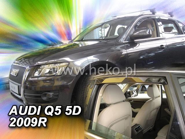 Ofuky oken Audi  Q5 09- přední Heko