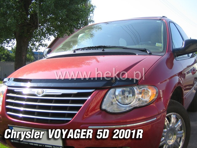 Ochranné lišty PLK Chrysler Grand Voyager 01R