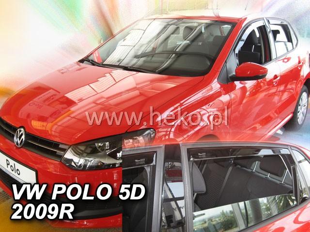 Ofuky oken VW Polo 5dveř 09- přední Heko