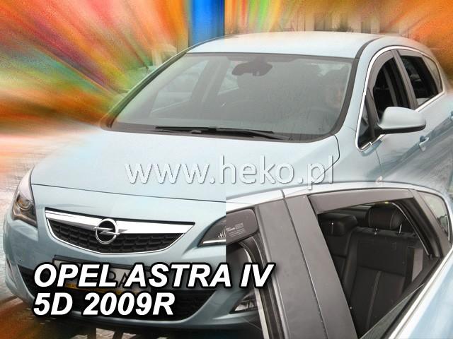 Ofuky oken Opel Astra IV 5dveř přední 09- Heko