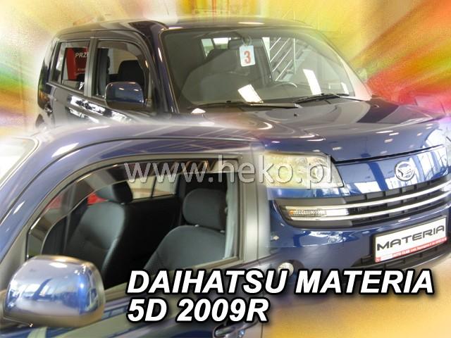 Ofuky oken Hyundai Trajet 5dveř 99-07 před.+zadní Heko