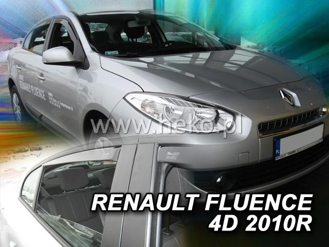 Ofuky oken Renault Fluence 4dveř přední 10- Heko