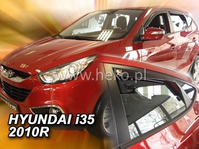 Ofuky oken Hyundai ix35 5dveř přední 10- Heko