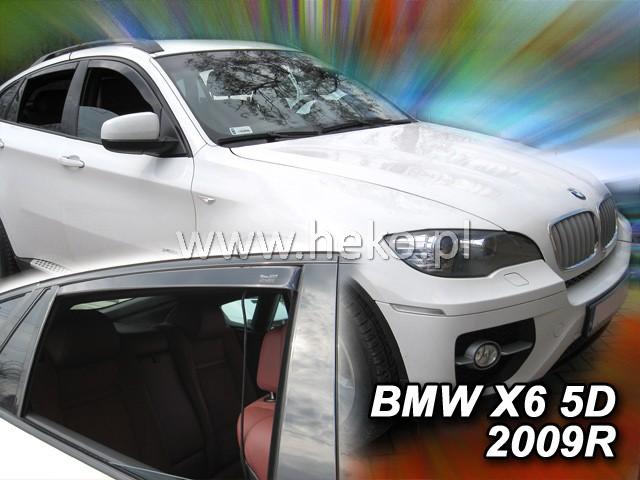 Ofuky oken BMW X6 5dveř přední 08- Heko