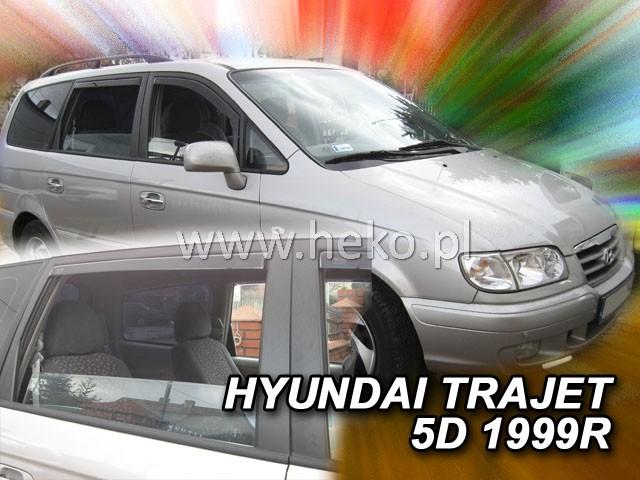 Ofuky oken Hyundai Trajet 5dveř 99-07 Heko