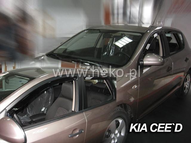 Ofuky Subaru Impreza GH 5D 08R (+zadní)