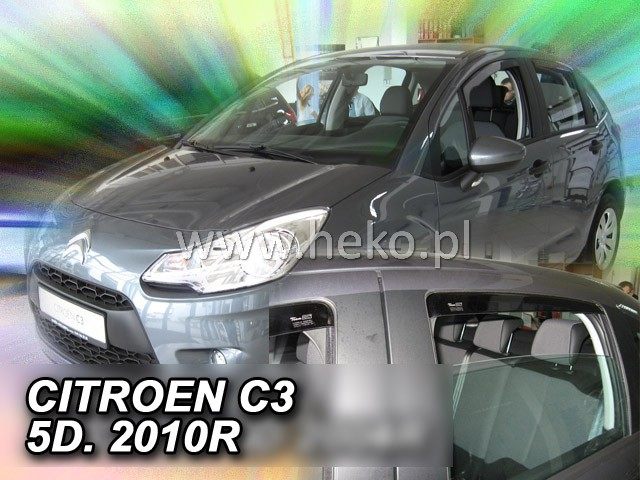 Ofuky oken Citroen C3 5dveř přední 10- Heko
