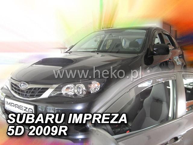 Ofuky oken Opel Meriva 5dveř 10- před.+zadní Heko