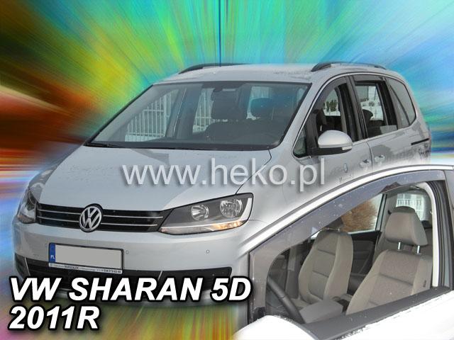 Ofuky oken VW Sharan 5dveř 10- před.+zadní Heko