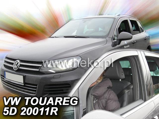 Ofuky oken VW Touareg 5dveř 10- před.+zadní Heko