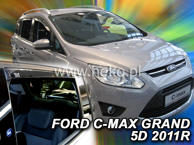 Ofuky oken Ford C MAX Grand 5dveř přední 11- Heko