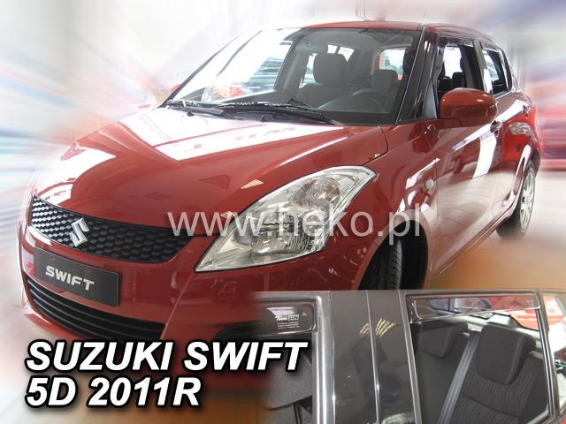 Ofuky oken Škoda Superb II 09-15 combi přední+zadní Heko