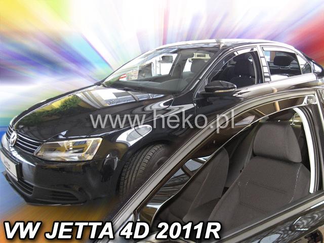 Ofuky oken VW Jetta 4dveř 11- před.+zadní sedan Heko