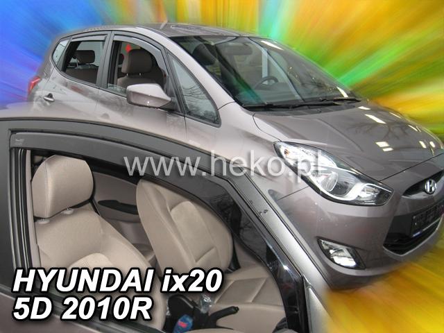 Ofuky oken VW Jetta 4dveř přední 11- sedan Heko