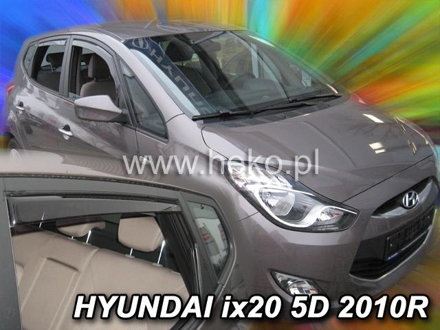 Ofuky oken Hyundai ix20 5dveř přední 10- Heko