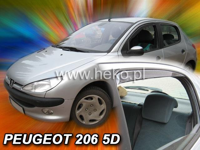 Ofuky oken Hyundai ix20 5dveř 10- před.+zadní Heko