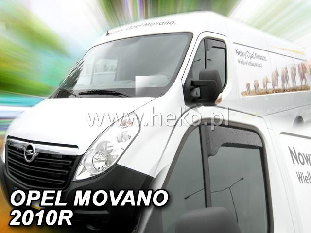 Ofuky oken Opel Movano přední 10- OPK Heko
