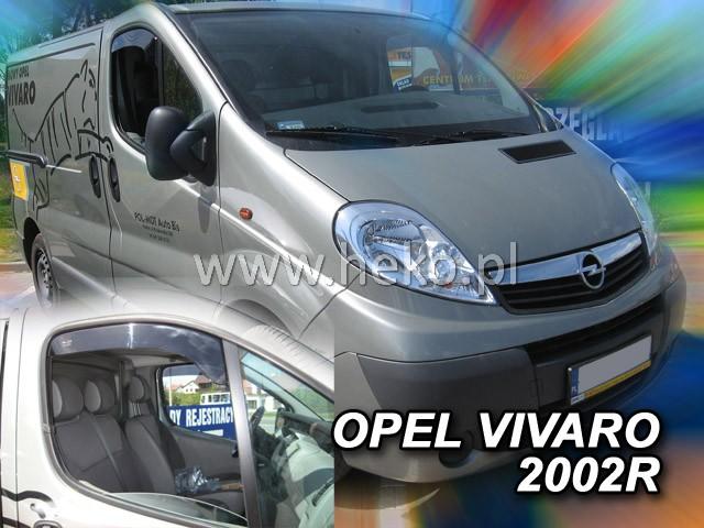 Ofuky oken Renault Master přední 10- OPK Heko