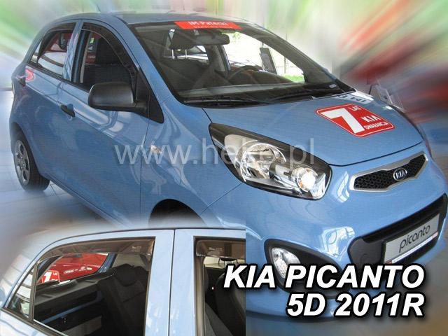 Ofuky oken Kia Picanto II 5dveř přední 11- Heko