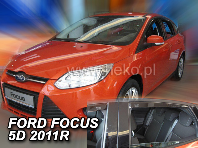 Ofuky oken Ford Focus 5dveř přední 11- Heko