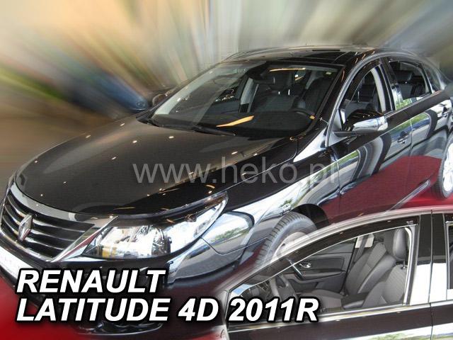 Ofuky oken Renault Latitude 4dveř 11- před.+zadní Heko