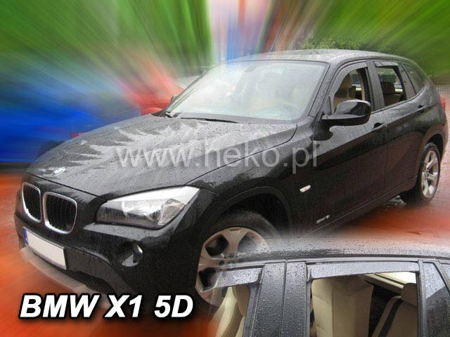 Ofuky oken BMW X1 5dveř přední Heko