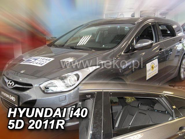 Ofuky oken Hyundai i40 5dveř přední 11- sed, combi Heko