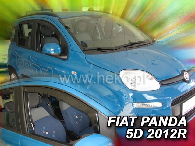 Ofuky Lancia Ypsilon II 5D 11R  (+zadní)