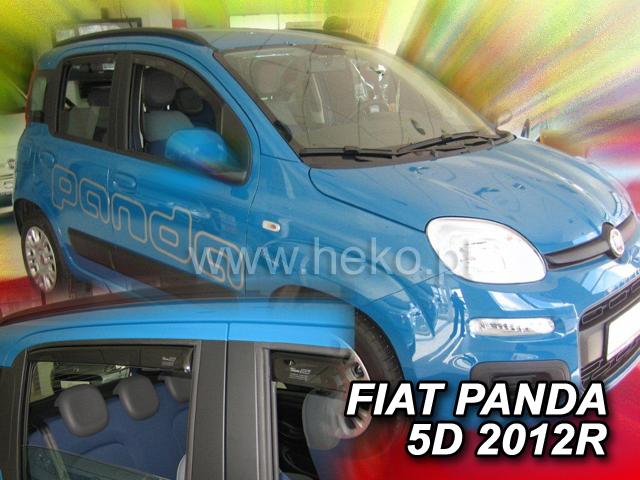 Ofuky oken Fiat Panda III 5dveř přední 12- Heko