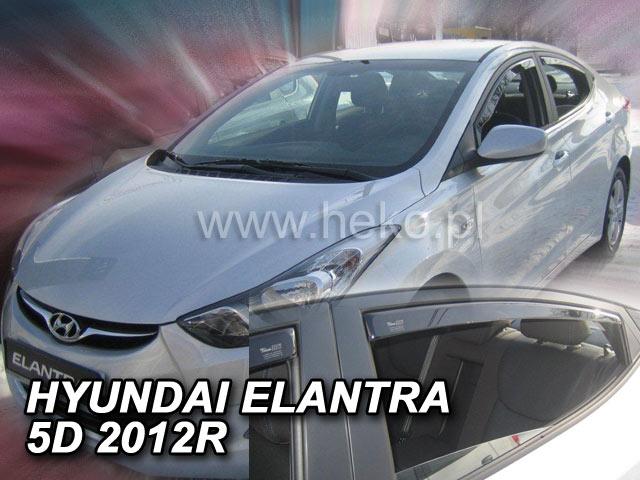Ofuky oken Hyundai Elantra V. 4dveř přední 10- Heko
