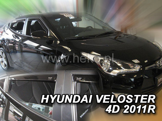 Ofuky oken Hyundai Veloster 4dveř přední 11- Heko
