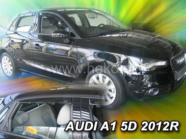 Ofuky oken Audi  A1 5dveř přední 12- Heko