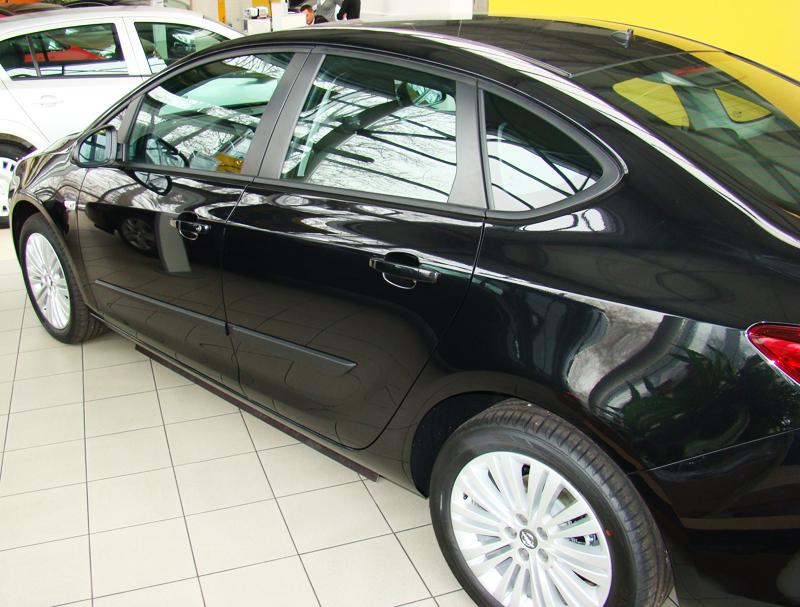 Ofuky oken Opel Meriva 4dveř 03- před.+zadní Heko
