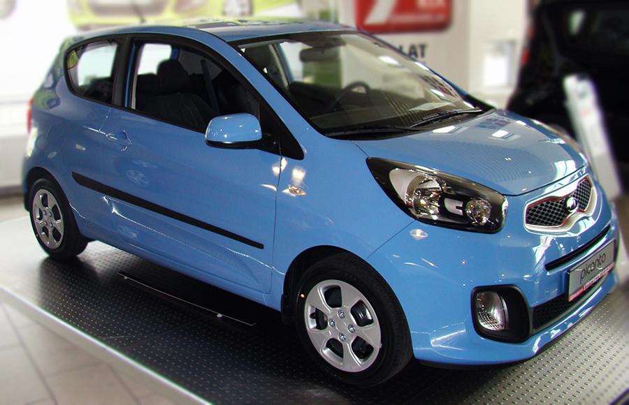Ofuky oken Opel Meriva 5dveř přední 10- Heko