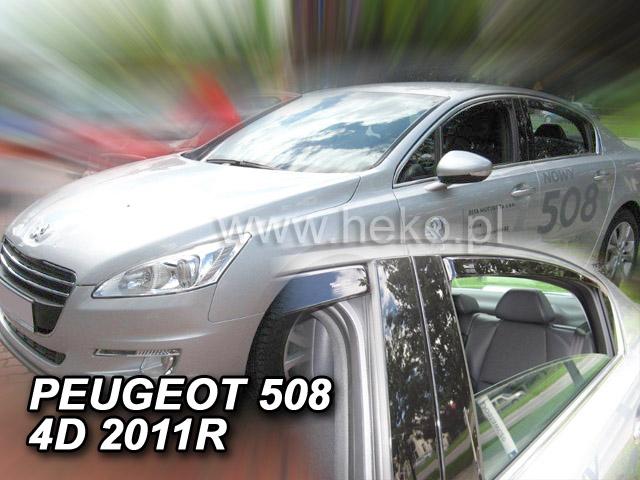 Ofuky oken Peugeot 508 4/5dveř přední 11- Heko