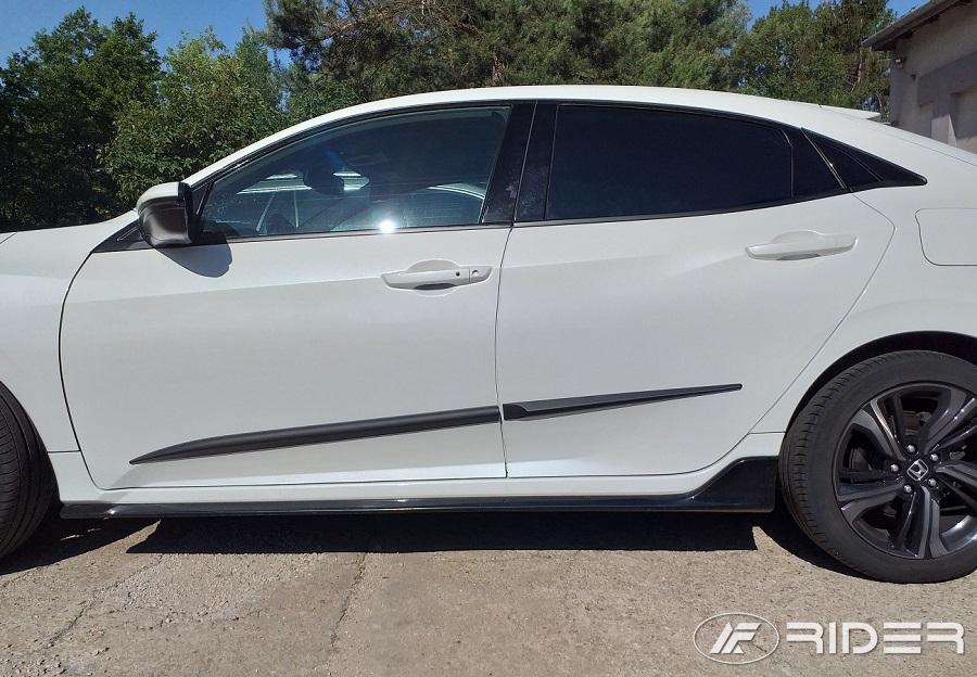 Ofuky oken Peugeot 407 4dveř 04- před.+zadní sed Heko