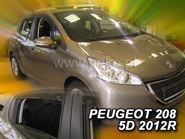 Ofuky oken Peugeot 208 3dveř přední 12- Heko