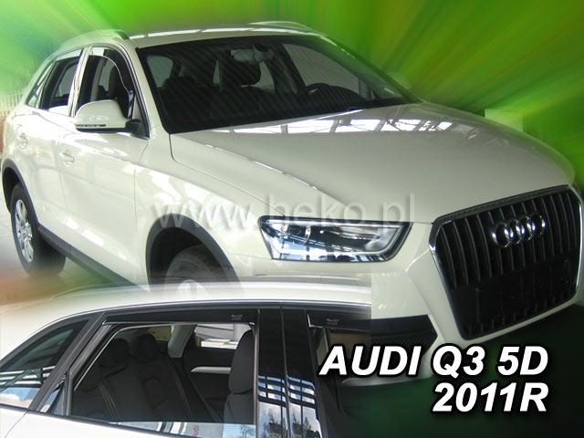 Ofuky oken Audi  Q3  2011- přední Heko