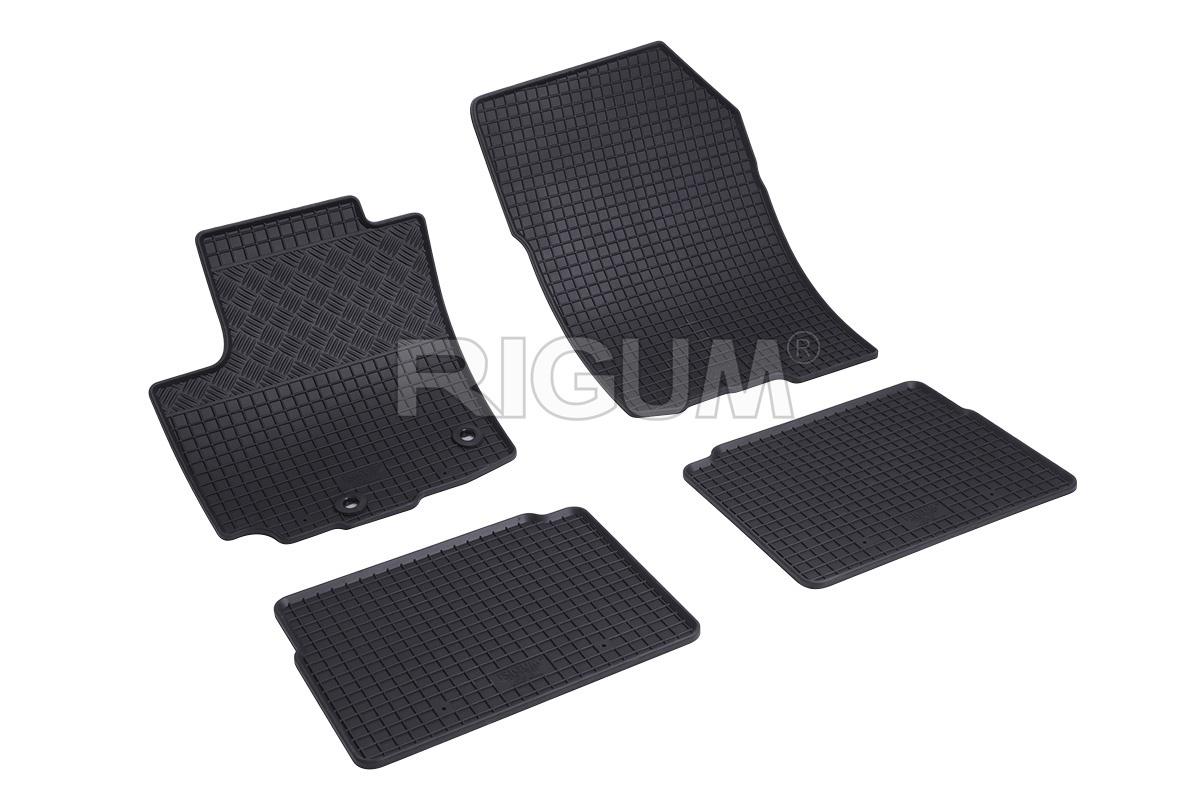 Gumové koberce Kia Venga 09R/Hyundai iX20 10R